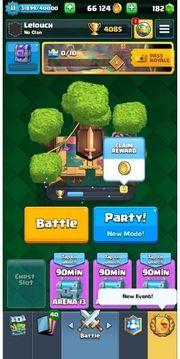 Clas Royale Account Alle Karten