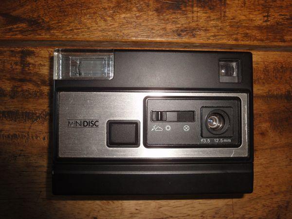 Disk-Kamera mit Film 30 Aufnnahmen
