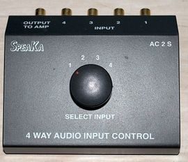 BIETE BTech SPEAKA AC 2 S, 4-Wege-Audio-Controller