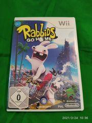 Wii Spiel Rabbids go Home