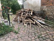 Brennholz aus Sanierung