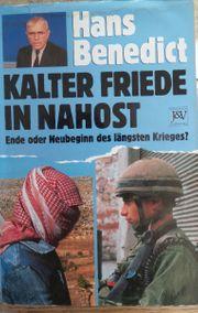 Kalter Friede in Nahost Ende