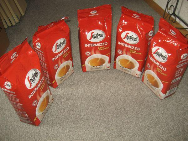 ca. 30 kg Segafredo Intermezzo, Kaffeebohnen, Bohnenkaffee, Kaffee Bohnen