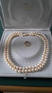Perlenkette - Armband - Ohrstecker