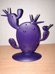 Koziol Pierce Kaktus Schmuckständer lila