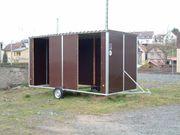 fahrbare Weidehütte Außenbox Weideunterstand