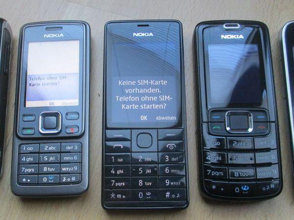 div Nokia Klassiker entsperrt