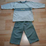 Grüner Freizeit-Anzug - Größe 98 - Jogging-Anzug -