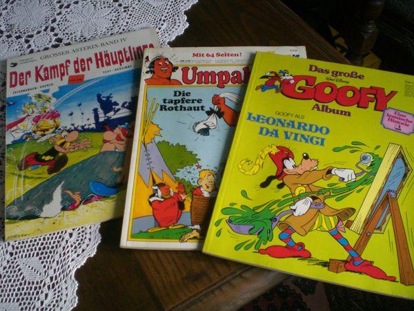 6 Comics Hefte