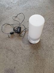 Radiowecker und Lampe mit Moonlightfunktion