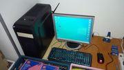 Komplett HTPC mit SSD Monitor