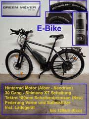 Bulls E-Bike - Hinterradmotor 250W 30