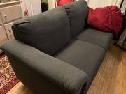 Sofa 3 Plätze dunkel Grau