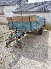 Streuwagen Dungwagen Mengele Doppeltrumpf ES