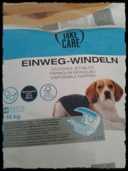 Einweg-Windeln für Hunde