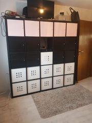 Ikea Kallax schwarz