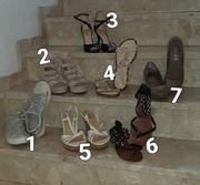6 Paar Schuhe nur 60