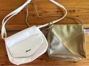 2 Stück gut erhaltene Handtaschen