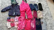 Mädchen Winterpaket Gr 92 98