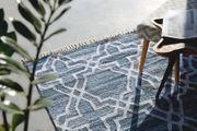 Teppich blau 140 x 200