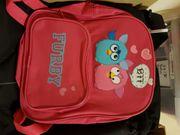 Furby Kinder Rucksack Kindergartentasche pink