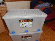 3 Große Kunststoff-Boxen