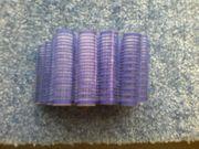 Lockenwickler - Haftlockenwickler - Haftwickler - 20 Stück - blau