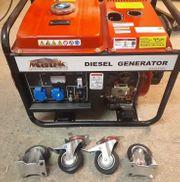 Diesel Notstromaggregat 230V
