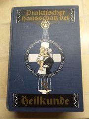 antikes Buch Praktischer Hausschatz der