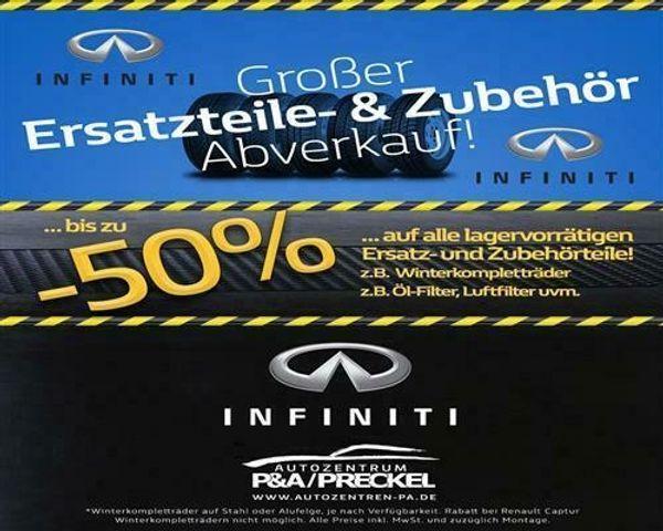 Infiniti FX30 Fussmatten stoff schw