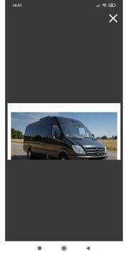 Transporter Bus mieten mit Tragehilfe