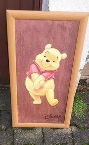 Winnie Pooh Bild neuwertig gemalt