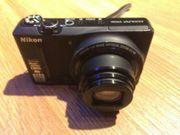 Digitalkamera Nikon Coolpix S9100 schwarzes