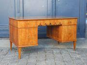 Schreibtisch Desk Büro Biedermeier Alt