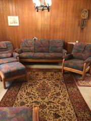Wohnzimmer Sitzgarnitur 4-teilig