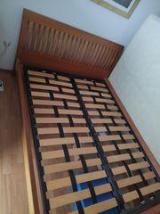 Bett 150x200 cm inkl Lattenrost