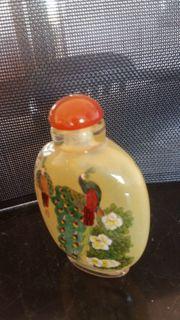 Große Vintage Snuff Bottle China