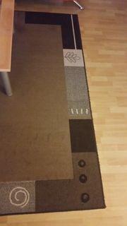 moderner Wohnzimmer Teppich gut erhalten