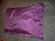 Sitzsack violett abwaschbar 120 x