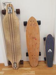 Skateboards einzeln oder alle drei