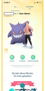 Pokemon Go Account LVL 40