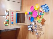 Vollholz Spielküche NEU Holz Toaster