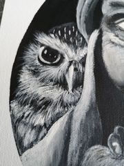 Acrylbild Eulalia
