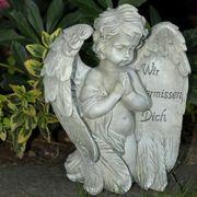 Trauerengel mit Spruch Engel zum