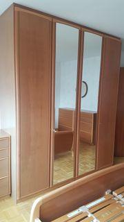 Kleiderschrank B 202cm Kirschbaum - hochwertige