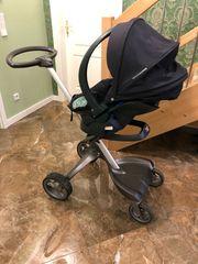 Stokke Babyschale Autositz Kinderwagen