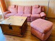 Himolla Couch Microfaser Terrakotta 4