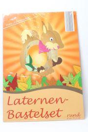 NEU Laternen Bastelset süßes Eichhörnchen