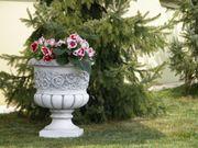 Garten Figur aus Beton Blumentopf