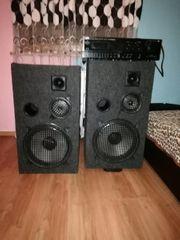2 Grosse Boxen Lautsptecher und
